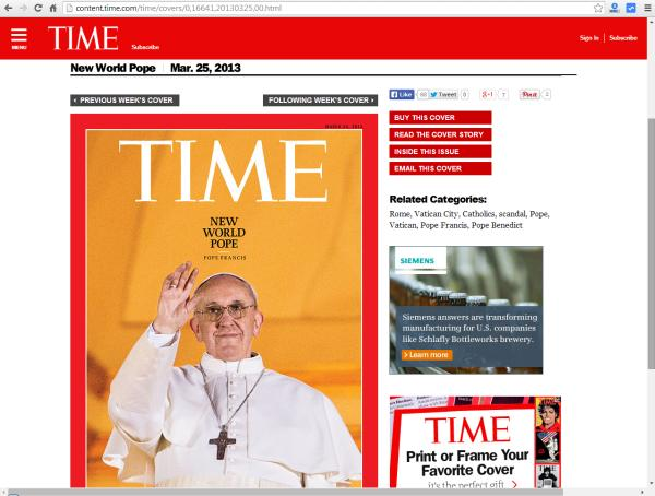 Time Magazin Cover, 25.3.2013 (Quelle: Screenshot http://content.time.com, aufgerufen 23.8.14)